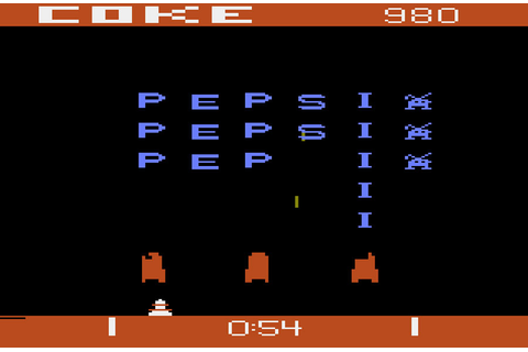 Game review: Atari Pepsi Invaders for #Atari 2600 # ...