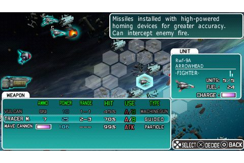 R-Type Tactics (2007) by Irem PSP game