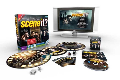 Amazon.com: Scene It? Twilight Saga Deluxe: Toys & Games