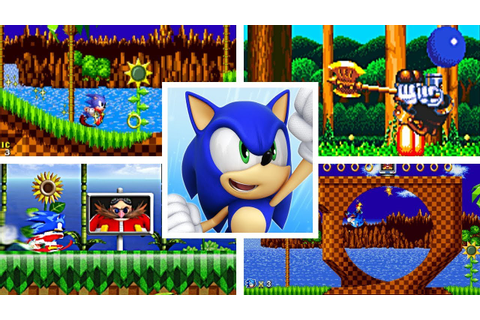 Evolution Of First Levels In Sonic The Hedgehog 2D ...