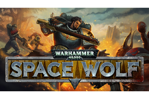 Warhammer 40,000: Space Wolf PC Game Trailer - YouTube