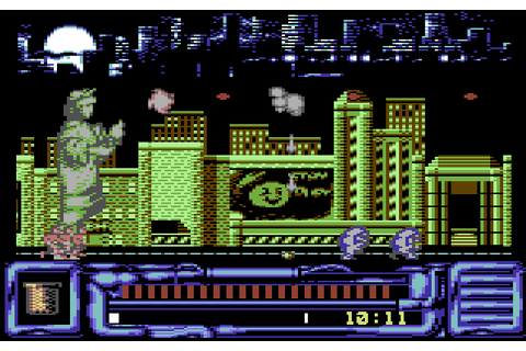 Ghostbusters II (1989) by Activision C64 game