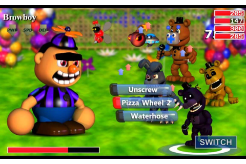 New fnaf world bosses!!!! - YouTube
