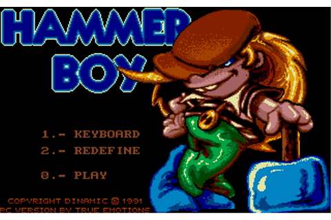 Hammer Boy | Old DOS Games packaged for latest OS