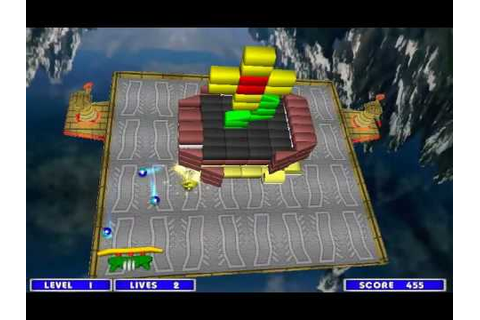 STRIKE BALL - 3D Arkanoid (Free full game) - YouTube
