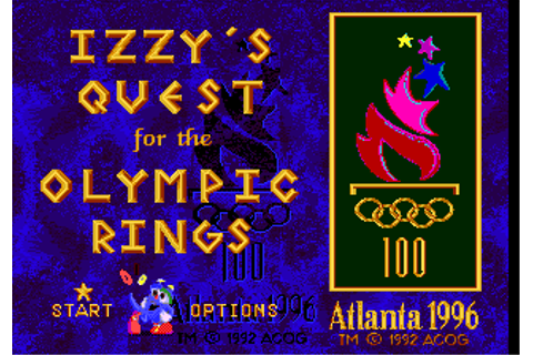 Izzy's Quest for the Olympic Rings