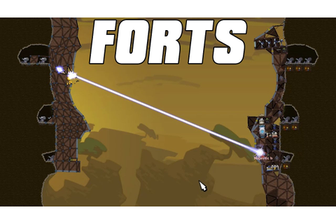 FORTS Multiplayer 4v4 - Two Games in One - YouTube