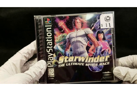 Starwinder: The Ultimate Space Race (PS1) Unboxing | Game ...