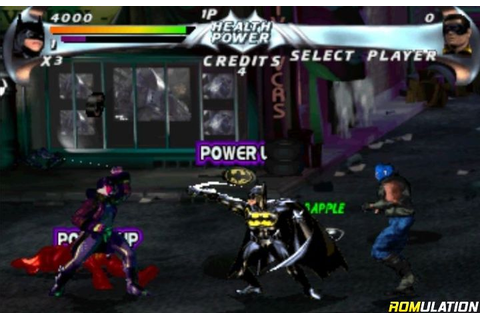 Batman Forever - The Arcade Game (USA) PSX / Sony ...