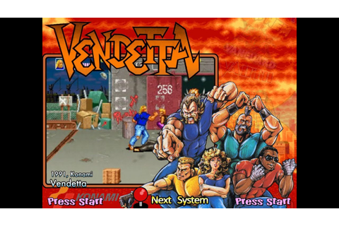 Vendetta (Arcade) - YouTube