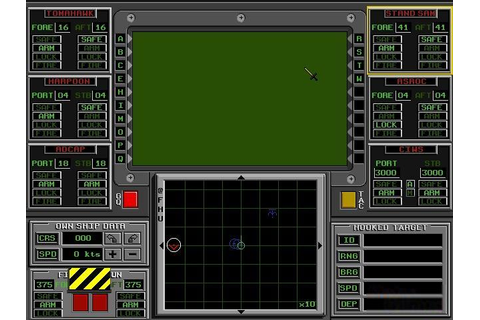 AEGIS: Guardian of the Fleet Download (1994 Simulation Game)