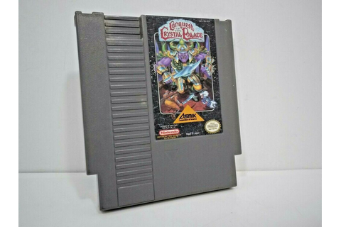 Conquest of the Crystal Palace (Nintendo, Nes ) Video Game ...