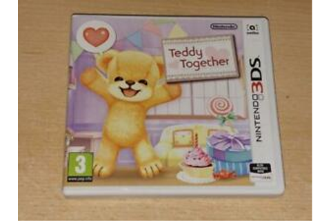 Teddy Together Nintendo 3DS UK Game **FREE UK POSTAGE ...
