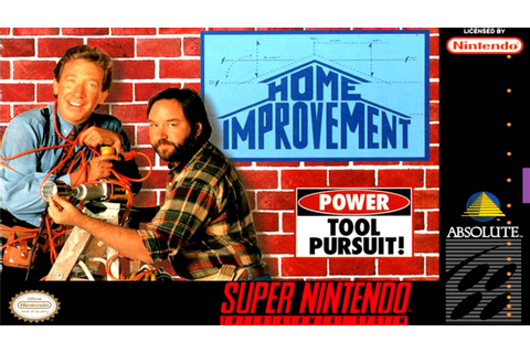 Game Over - Home Improvement: Power Tool Pursuit! - YouTube