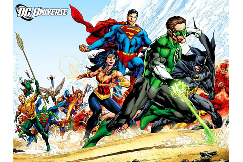 Dc-comics justice-league superheroes comics wallpaper ...