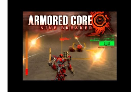 Armored Core: Nine Breaker ... (PS2) - YouTube