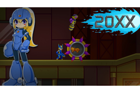 Let's Try 20XX - Co-op and Female Megaman??? - YouTube