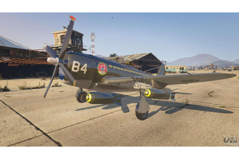 P-47D Thunderbolt for GTA 5
