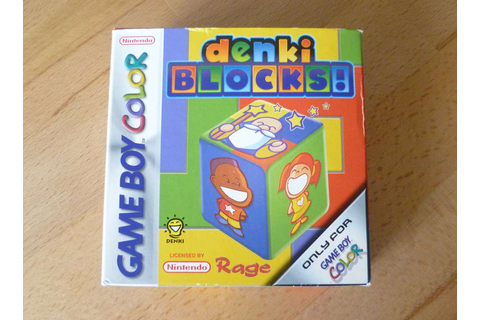 Denki Blocks! - Nintendo Game Boy Color