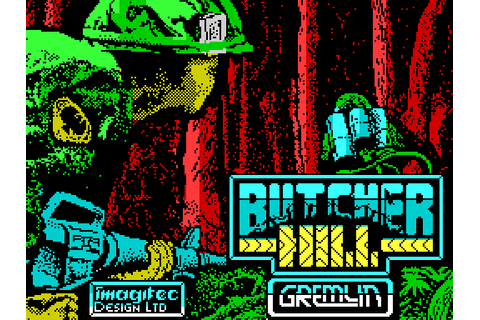 Butcher Hill (1989) by Imagitec Design ZX Spectrum game