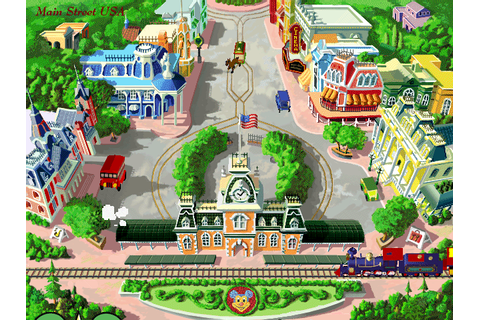 The Walt Disney World Explorer is a CD-ROM... - let this ...