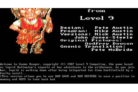 Download Gnome ranger adventure for DOS (1987 ...