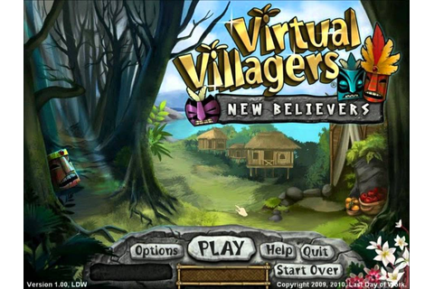 Virtual Villagers 5 song 1 - YouTube
