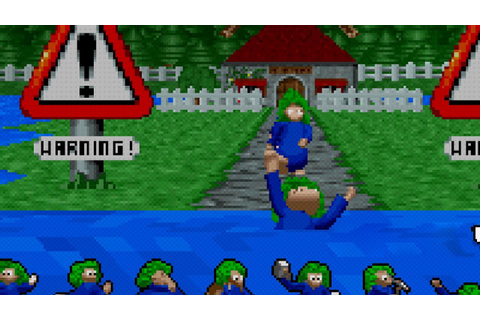 Let's Drown - Lemmings 3D - YouTube