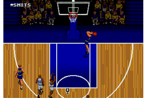 Download NBA Action '95 starring David Robinson (Genesis ...