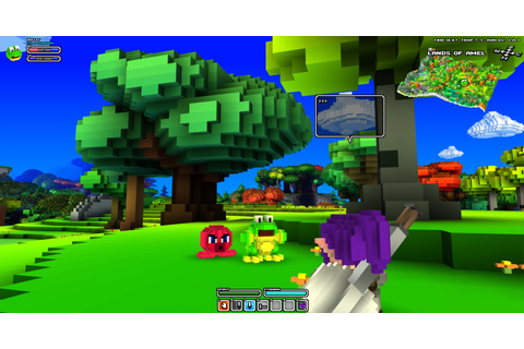 wollay's blog: Help me find a new name for Cube World!