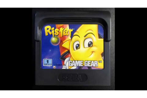 Ristar complete Video Game soundtrack (Game Gear, 1995 ...