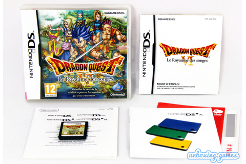 Dragon Quest VI : Le Royaume des songes [FRA] Nintendo DS ...