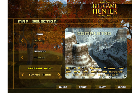 Cabela's Big Game Hunter: 2005 Adventures | Daily PC Game ...