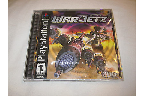 Warjetz (Playstation PS1) Game Brand New, Factory Sealed ...