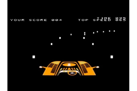 Night Driver - Arcade (Atari 1976) - YouTube
