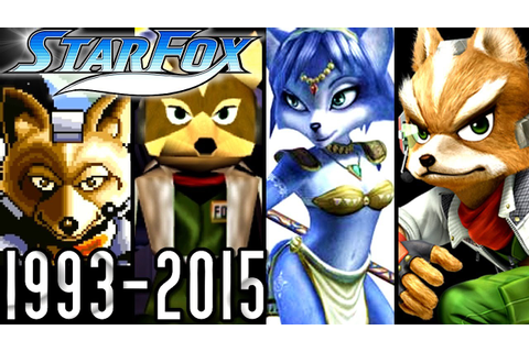 Star Fox ALL INTROS 1993-2015 (Wii U, GCN, N64, SNES ...
