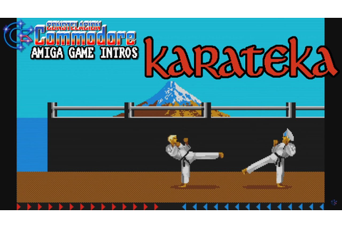 Amiga Game Intro: Karateka (Andromeda/Broderbund,2016 ...