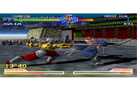 Battle Arena Toshinden 2 - Arcade - Games Database