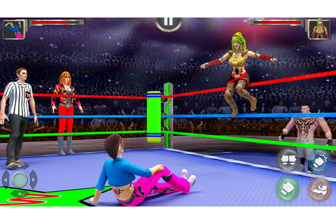 Women Wrestling Revolution PRO - Android Apps on Google Play