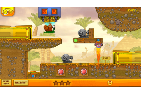 Snail Bob 3: Egypt Journey – Games for Android. Snail Bob ...