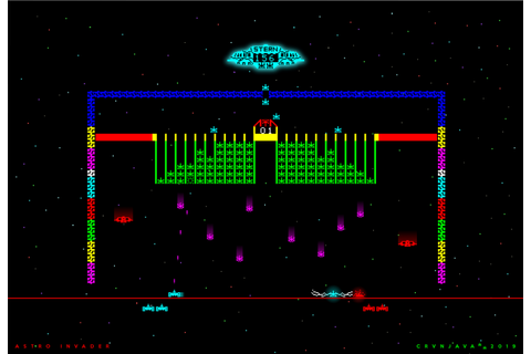 Astro Invader by crvnjava67 on DeviantArt | Two player ...