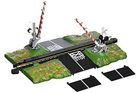 Amazon.com: Bachmann E-Z Track Crossing Gate - N Scale ...