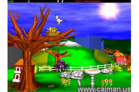 Caiman free games: Potty Pigeon by Geekay.