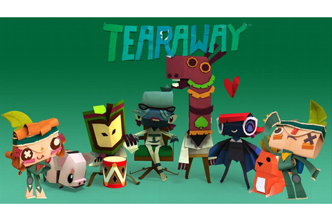 Tearaway Cartoon Video Game Wallpapers - XciteFun.net