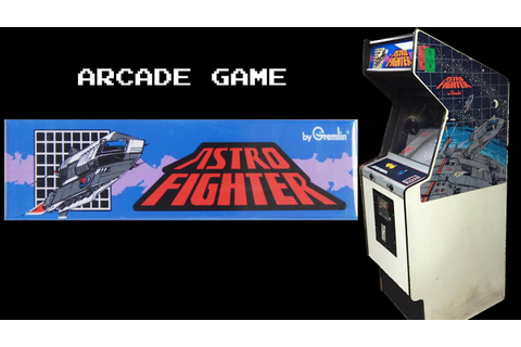 Astro Fighter - (1979) - Arcade - Gameplay HD - YouTube