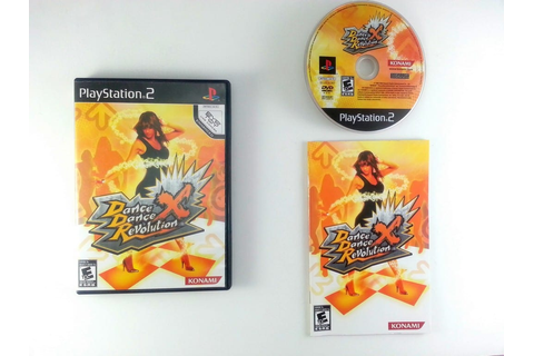 Dance Dance Revolution X game for Playstation 2 (Complete ...