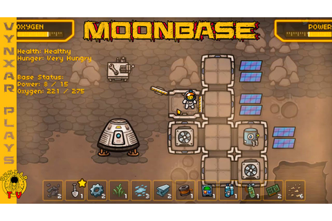 Moonbase - a cute survival base building game on a barren ...