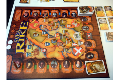 Anatoli's Game Room: SVEA Rike - boardgame review