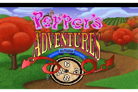 Download Pepper's Adventures in Time adventure for DOS ...