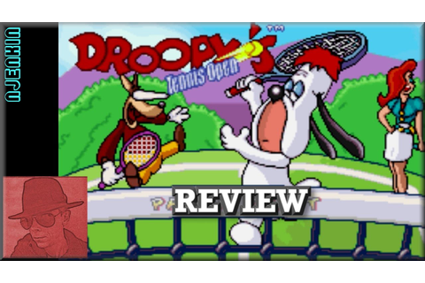 Droopy's Tennis Open - on the GBA - with Commentary ...